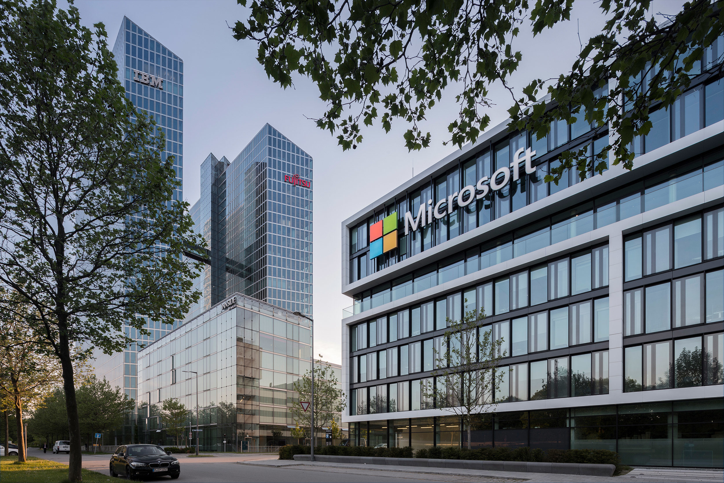 Microsoft Headquarter Germany, Munich - GSP Architekten