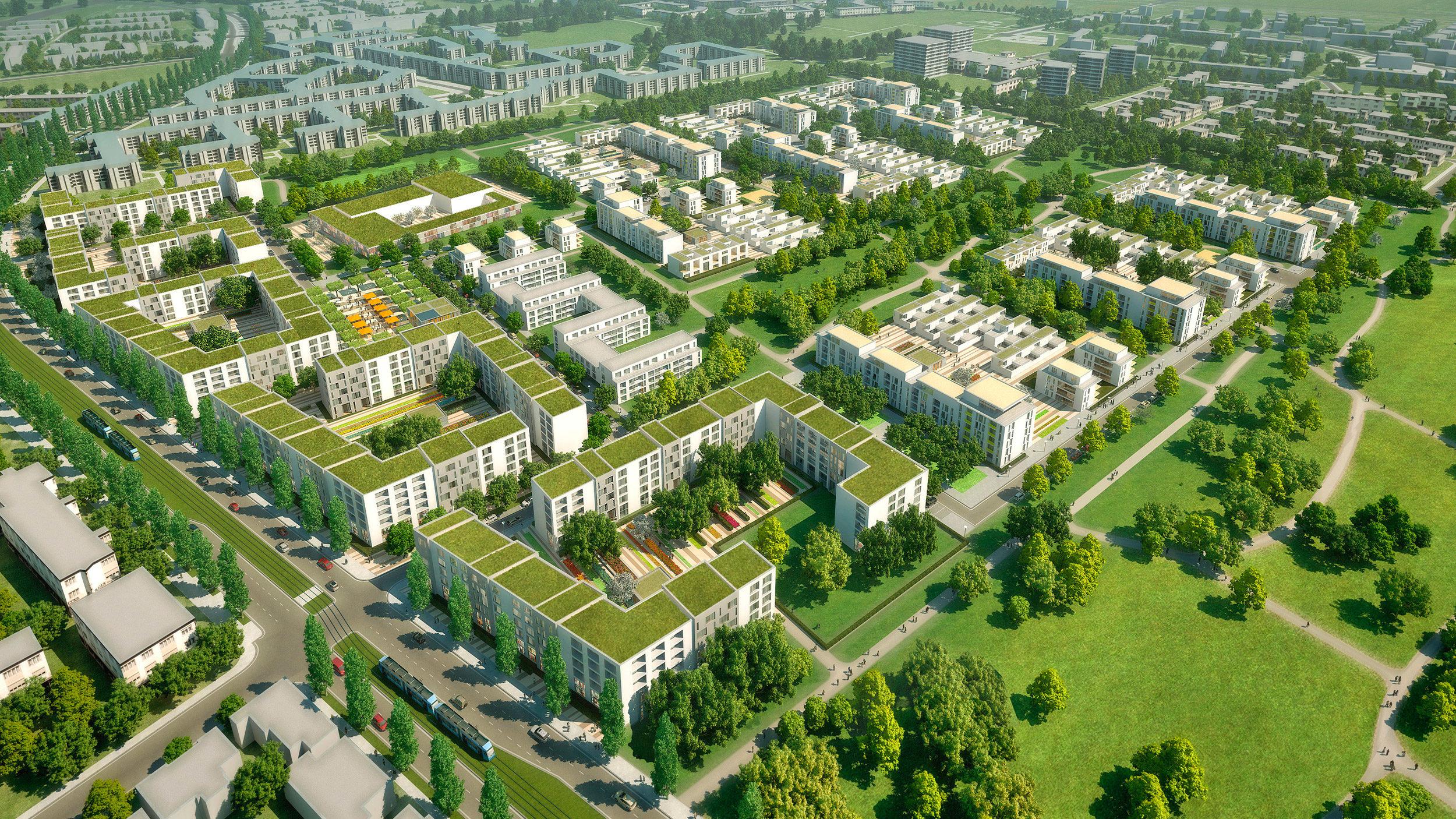 Prinz Eugen Kaserne, München - GSP Architekten